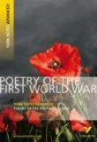 Poetry of the First World War by Tom Rank - York Notes Advanced