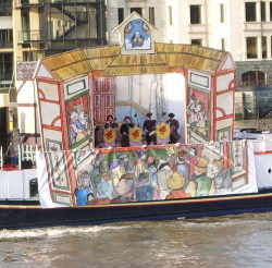 Shakespeare's birthday barge